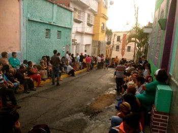 Forming a communal council in the El Manicomio neighbourhood of Caracas (Photo: Rachael Boothroyd-Rojas/Venezuelanalysis)