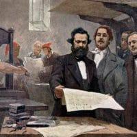 Marx and Engels at the Neue Rheinische Zeitung