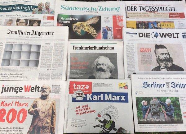 | Marx in newspapers | MR Online