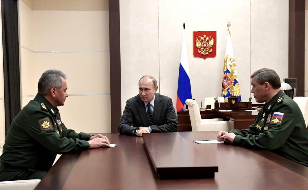 | President Putin meeting with Sergei Shoigu and Valery Gerasimov | MR Online
