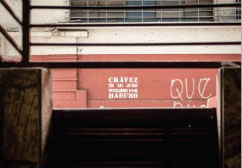 Graffiti on side of building ( PHOTO: Rafael Stédile)
