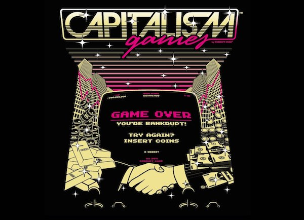 Capitalism Games by Manos Lakoutsis | Threadless