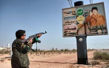 Western-backed LIbyan rebel