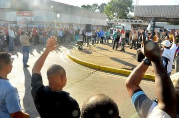 Workers' assembly at Alcasa aluminium plant (Photo: Prensa CVG Alcasa)