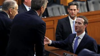 Mark Zuckerberg, Chuck Grassley, John Thune