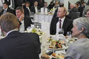 Flynn: With Stein at 'The Dinner'