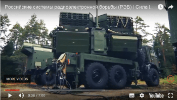 Official Defence Ministry video presentation of Russian EW equipment