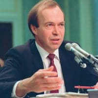 Dr James Hansen before congress in 1988