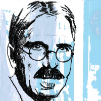 John Dewey, by Sterling Bartlett (Source: http://partiallyexaminedlife.com)
