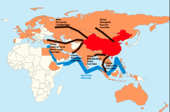 One belt one road.