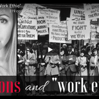 "Unions and ""work ethic"""
