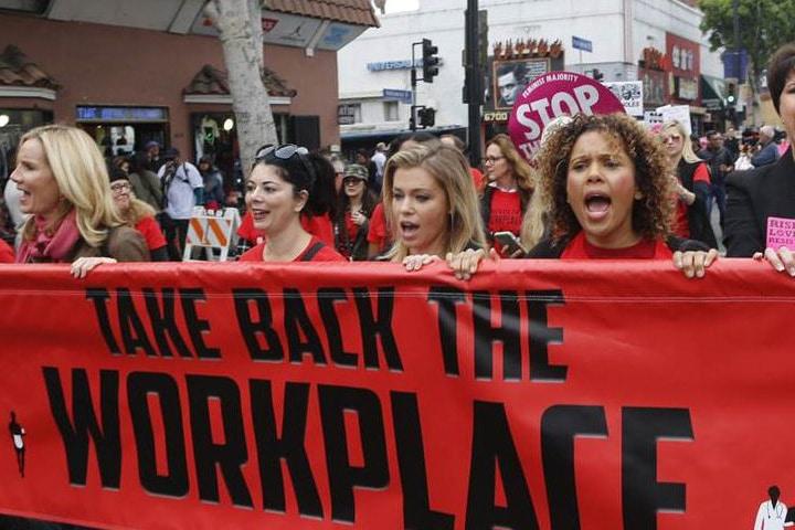 | MeToo march Los Angeles | MR Online