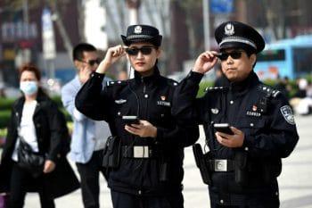 China Police Smart Glasses