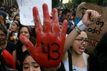 Demostration in Mexico City 2014 Photo- Associated Press