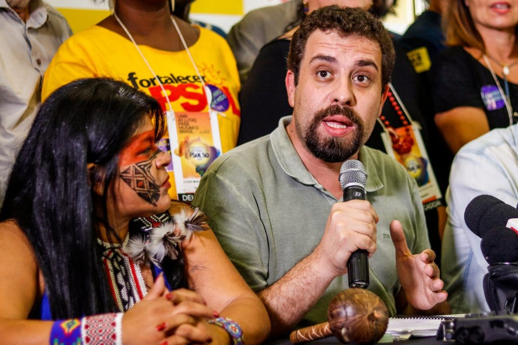 | Guilherme Boulos at the electoral conference of the Socialism and Freedom Party PSOL on March 10 2018 | MR Online