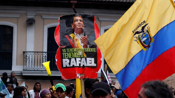 In a repeat of Brazil model, judge orders detention of Rafael Correa