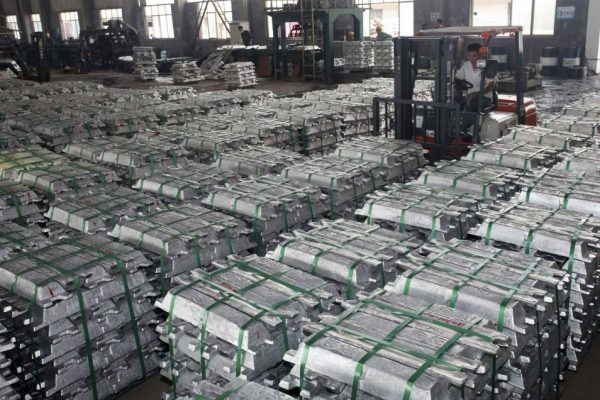 Overproduction of steel in China