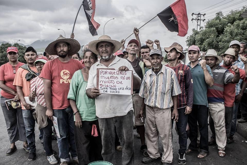 | Chavista campesinos march toward Caracas | MR Online