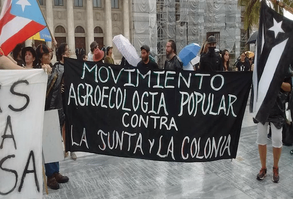 People's Agroecology Movement Against the Board and the Colony. Photo Credit: Movimiento Agroecología Popular