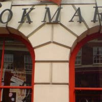 The shopfront of socialist bookshop Bookmarks