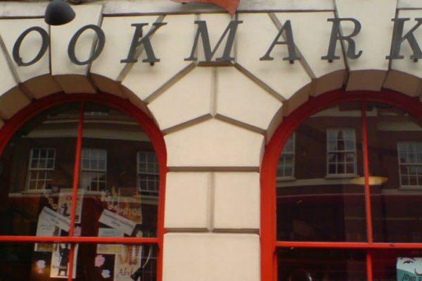 The shopfront of socialist bookshop Bookmarks