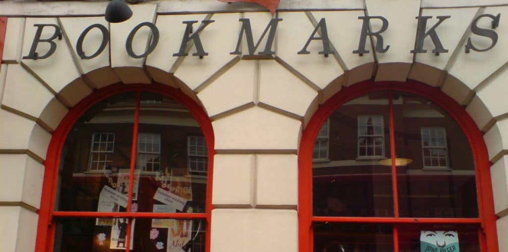   The shopfront of socialist bookshop Bookmarks   MR Online