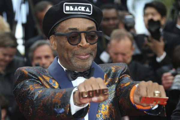 Spike Lee at the Cannes film festival in 2018