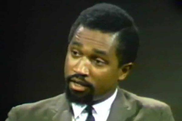 Kwame Somburu debating on Firing Line with William F Buckley in 1968
