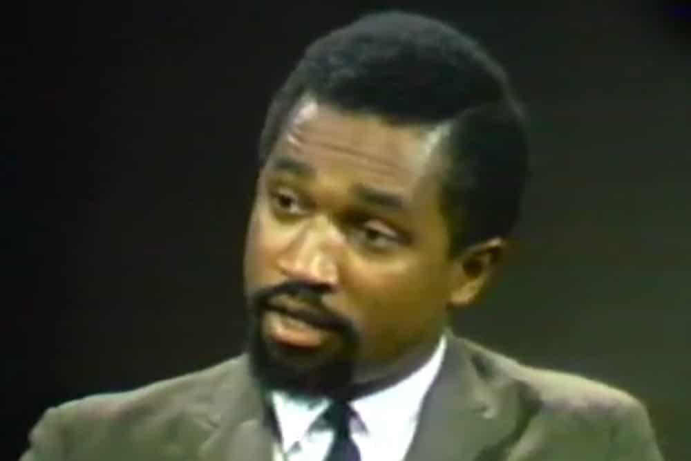 | Kwame Somburu debating on Firing Line with William F Buckley in 1968 | MR Online