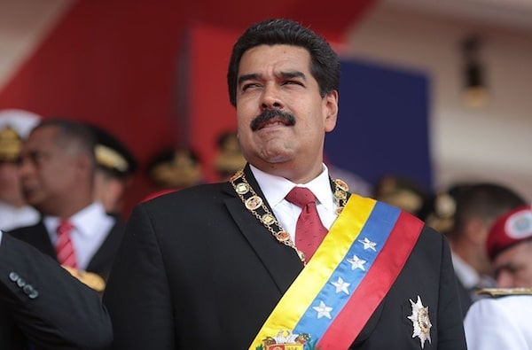 President Maduro was unscathed from the attack (Hugoshi)
