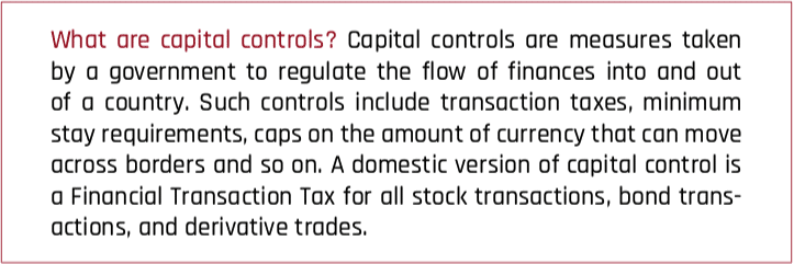 What are capital controls?