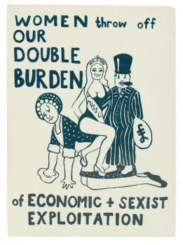 economic + sexist expoloitation