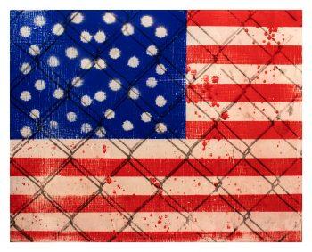 Yo Soy American (I am American) Flag