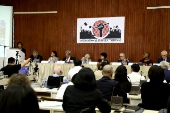 | Participants held the IPT 2018 meeting in Brussels Belgium last September 18th and 19th Photo courtesy of the International Peoples Tribunal 2018 Facebook page | MR Online