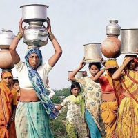 NSSOAn NSSO survey shows that in rural areas, the average trip to the water source takes 20 minutes and there is a 15­minute waiting time and it takes several trips to meet the water needs.(PTI File Photo)
