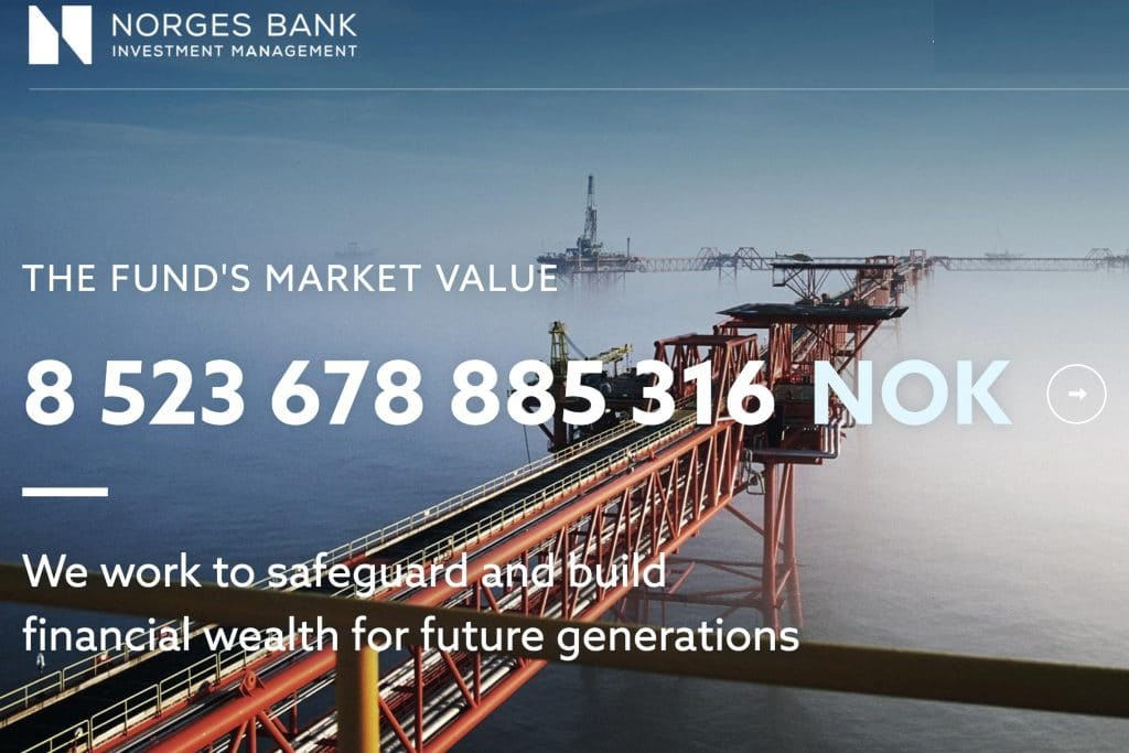 | Norges Bank Government Pension Fund Global Norway | MR Online