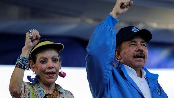 President Daniel Ortega and Vice-President Rosario Murillo consider climate change one of the principal challenges to Nicaraguan development. | Photo- Reuters