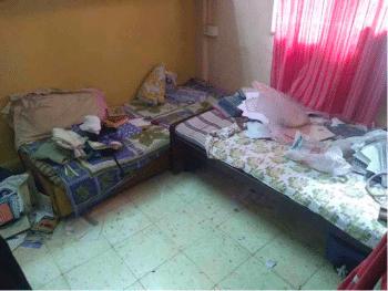 Sagar Abraham-Gonsalves's room
