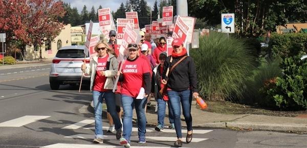 Washington Walkouts Win Teachers Big Raises