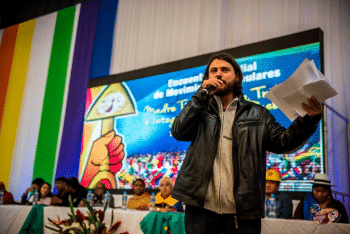 | Juan Grabois lawyer and founder the Movement of Excluded Workers MTE | MR Online