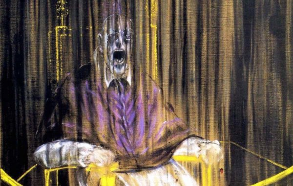 Francis Bacon, Study after Velázquez's Portrait of Pope Innocent X (1953)