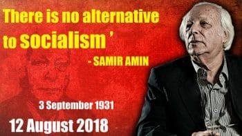 Toward a New International: Amin's last will and testament