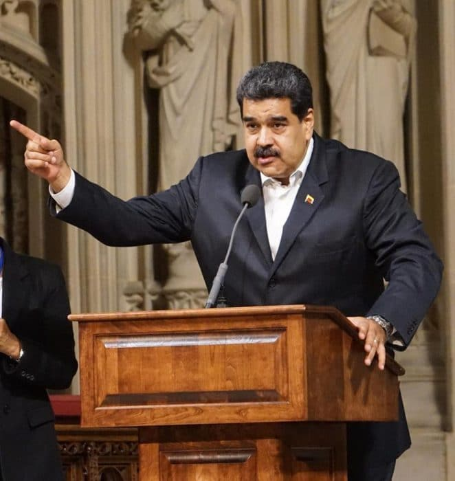 Venezuela's Maduro