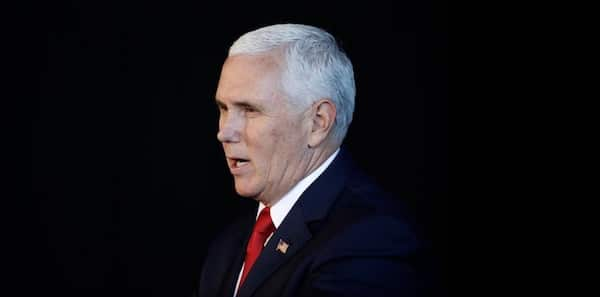 US Vice-President Mike Pence said the 10,000 refugees fleeing violence and poverty in Honduras were sponsored by 'leftist groups' and the Venezuelan government