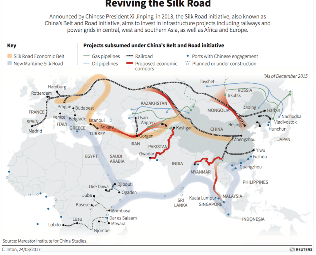 MR Online | A critical look at China's One Belt, One Road