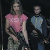 'WHITE EUROPE IS OUR GOAL'- Children are given military and ideological training