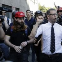 | Proud Boys cofounder Gavin McInnes is surrounded by supporters at a rally in Berkeley Calif Photo Marcio Jose Sanchez AP | MR Online