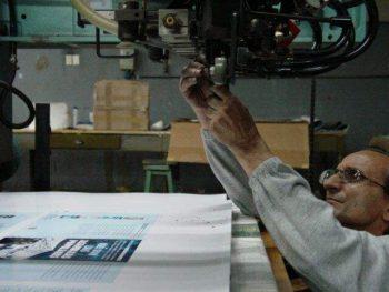 Worker in Imprenta Chilavert