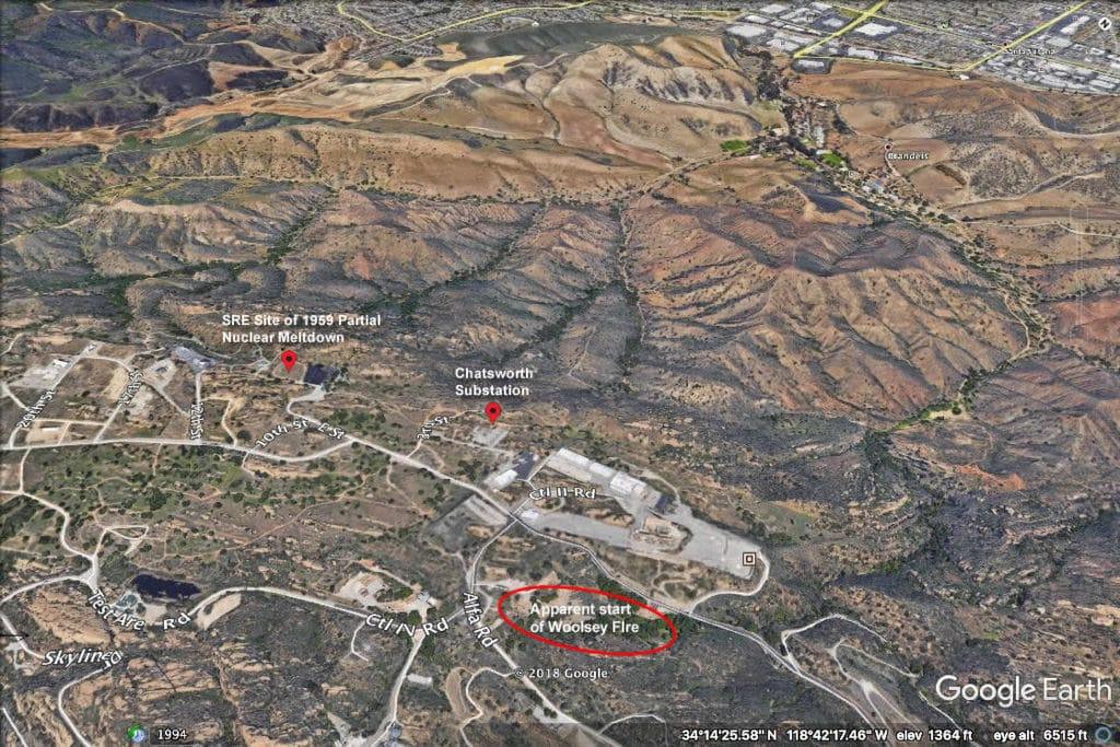 Pre-fire (Photo Credit: Google Earth)
