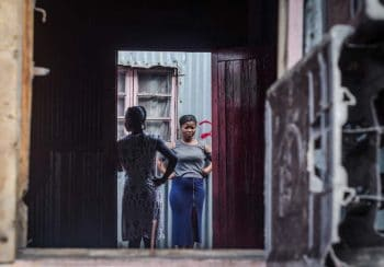 15 June 2018: Residents of Lamontville Transit Camp being evicted by the City of eThekwini's Security Management Unit and the Department of Human Settlements, in Lamontville South of Durban. Rethabile Ts'eiso-Phakisi / New Frame
